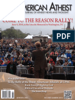 Second Quarter 2016 - American Atheists Magazine