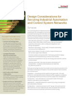 Design Considerations for Securing Industrial Automation and Control System Networks_Rockwell