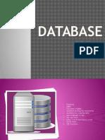 Outline of Database