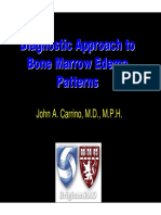Bonemarrow Edema Patterns in MRI