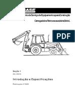 Case Retroexcavadora 580l Manual Entrenamiento