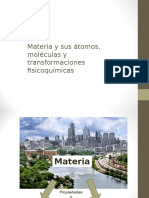 Materia, Atomos, Moléculas 7mo básico
