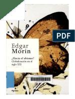 Morin, Edgar - Hacia El Abismo