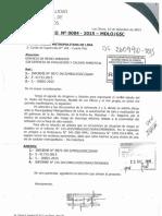 Oficio del Municipio de Los Olivos dirigido a la MML