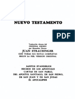 Santa Biblia Straubinger Nuevo Testamento
