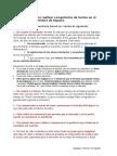 Añexo II. Instruciones Para El Comentario de Textos