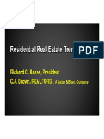 2016 TRENDS Residential