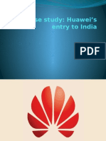 Huawei - IB the Case Study