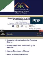 Guías Internacionales en la Estimación de Reservas y Recursos