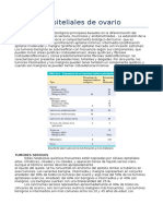 6-Tumores Epiteliales de Ovario