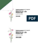 tarjetas de presentacion de fabricas de francias mesa de regalos.docx