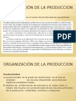 organizacion de La Produccion