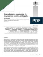 11 Contradicciones y Evolución de Movimientos Sociales en España