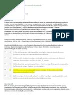 4-APOL 4 - Ambiental e Logística - Nota 100 - By Jeff d