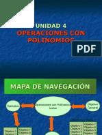 UNIDAD 4 Operaciones Con Polinomios