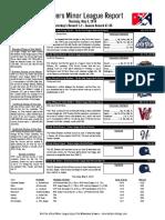 5.5.16 Minor League Report