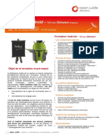 Formation ANDROID Débutant