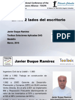 Javier Duque Ramirez_24 TOCPA_31 March-1 Apr 2016_Bogota, Colombia_Spanish