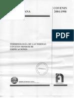 2004-98 Términos Normas Edificacciones