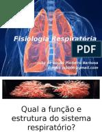 Aula - Fisiologia Respiratoria