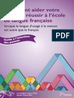 Guide Langue Francaise