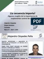 Alejandro Céspedes Peña_24 TOCPA_31 March-1 Apr 2016_Bogota, Colombia_Spanish