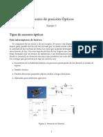 Sensores de posicion Opticos