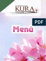 Menu Sakura