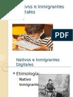 Nativos e Inmigrantes EXTA