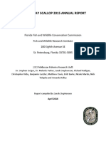 FWC's Fish and Wildlife Research Institute annual scallop report