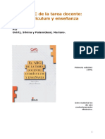 Capítulos 1 y 2 Gvirtz y Palamidessi