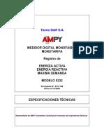 Medidor Digital Monofasico 5232