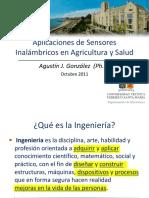 Aplicaciones de Sensores Inalámbricos en Agricultura y Salud