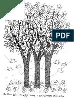 Daimokugrama de árbol