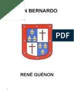 10a-Guénon, René -San Bernardo