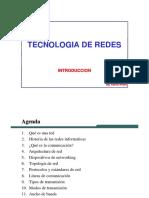 Cap1 Tecnologia de Redes - Introduccion