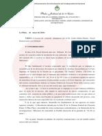 El Tribunal de La Plata suspendió el inicio del juicio oral contra Fariña