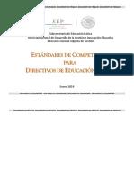 Estándares Competencia Directiva