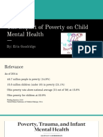 the impact of poverty on child mental health