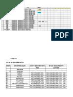 BR040 622A626 - Lista de Documentos