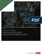 ABB Robotics Product Range 2016