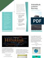 habakkuk survey brochure