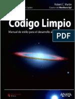Código Limpio Manual de Estilo Para El Desarrollo Ágil de Software (Spanish 2012)