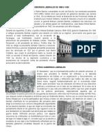 Gobiernos Liberales de 1885 a 1920