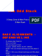 CLINIC 1 - The Odd Stack - 3 Deep Man Free w 5 Man Pressure