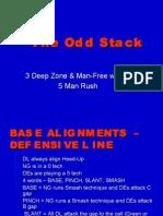 CLINIC 1 - The Odd Stack - 3 Deep Man Free w 5 Man Pressure