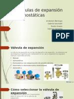 Presentación Válvulas de Expansión Termostáticas