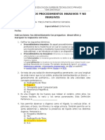Examen Procedimiento No Invasivo