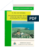 Recomendaciones Técnicas Para El Cultivo de La Platanera.