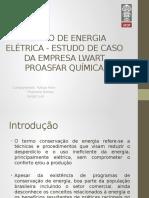 A Gestão de Energia Elétrica Na Indústria